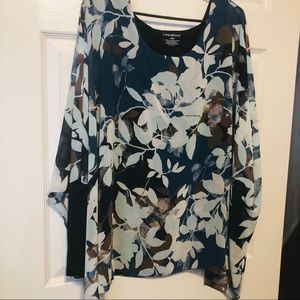 Lane bryant dolman sheer sleeve 18/20